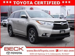 2016 Toyota Highlander XLE V6 SUV For Sale in Indianapolis, IN