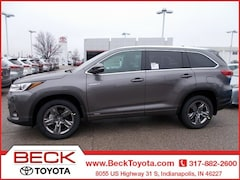 New 2019 Toyota Highlander Hybrid Limited Platinum V6 SUV For Sale in Indianapolis, IN