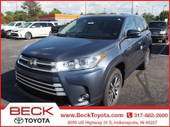 New 2019 Toyota Highlander XLE V6 SUV For Sale in Indianapolis, IN