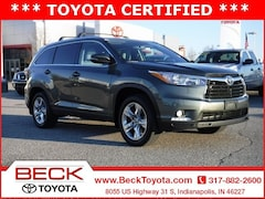 2016 Toyota Highlander Limited V6 SUV For Sale in Indianapolis, IN