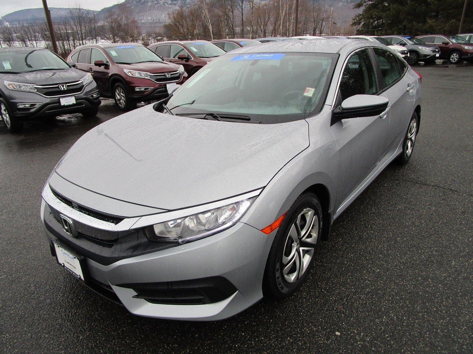 2016 Honda Civic Sedan LX CVT LX