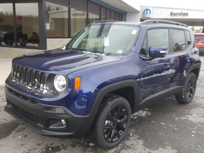 New 2018 Jeep Renegade ALTITUDE 4X4 Sport Utility in Bedford, PA