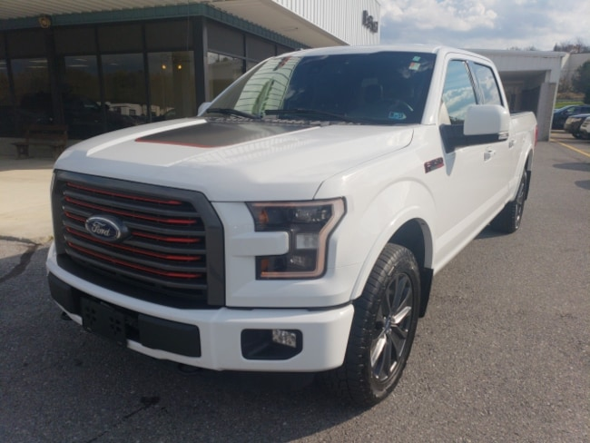 Used 2016 Ford F-150 Lariat Truck SuperCrew Cab in Bedford, PA