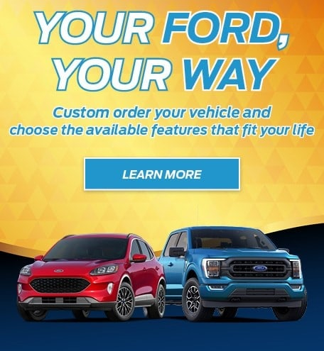 Custom Order Your Next Ford