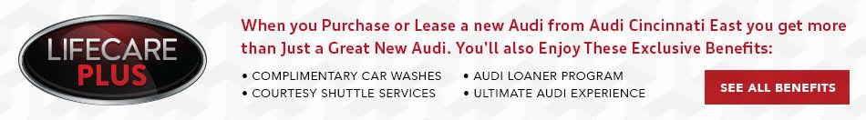Audi Cincinnati East Benefits
