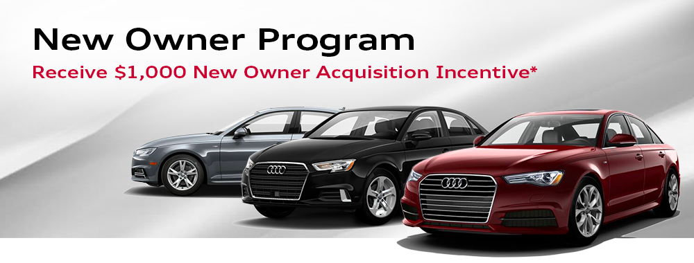 Audi New Owner Acquisition Incentive Cincinnati