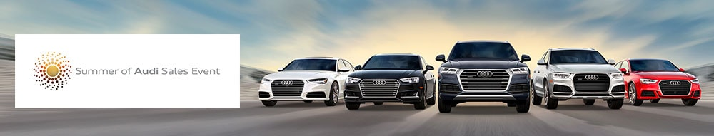 Summer of Audi Offers