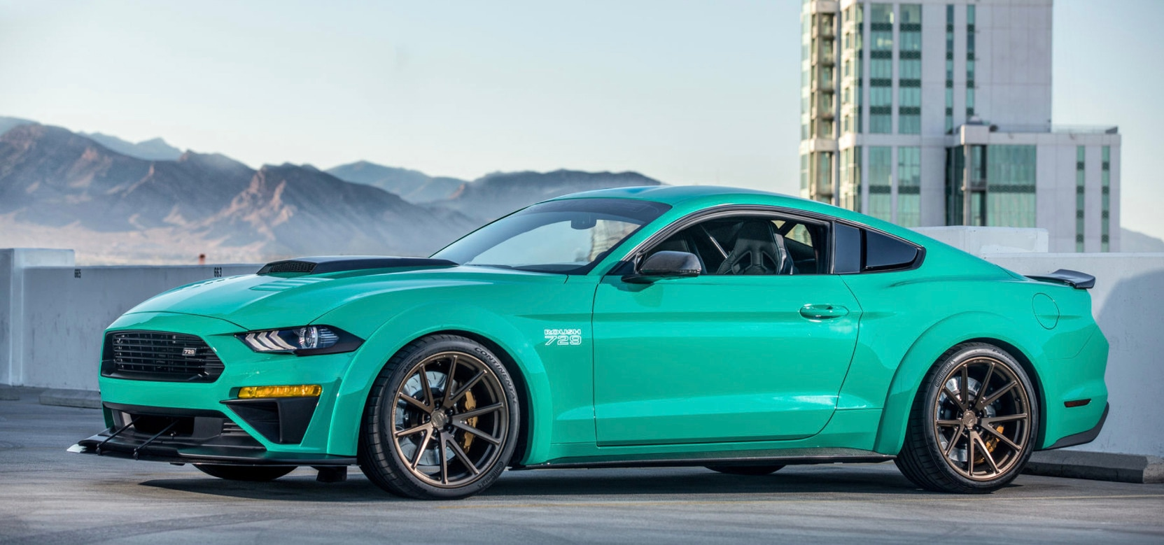 Roush stage 2 mustang get ready for the track with beechmont ford and roush