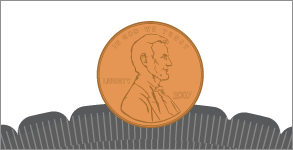 Step 1 of the Penny Test
