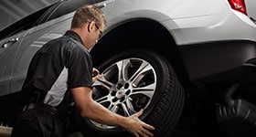 Toyota Tire Rotation and Tire Repairs