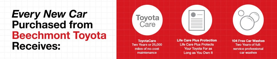 Beechmont Toyota Exclusive Benefits Cincinnati