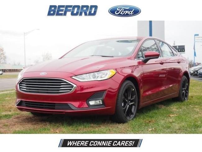 New 2019 Ford Fusion SE Sedan in Washington Court House, OH