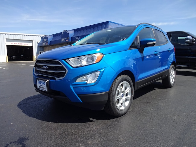 New 2019 Ford EcoSport SE SUV in Washington Court House, OH