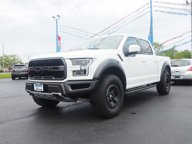 New 2018 Ford F-150 Raptor Truck SuperCrew Cab in Washington Court House, OH