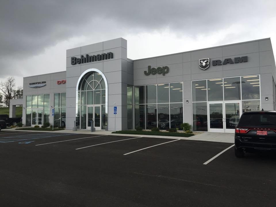 behlmann chrysler dodge jeep ram car dealership troy missouri serving wentzville o 39 fallon st. Black Bedroom Furniture Sets. Home Design Ideas