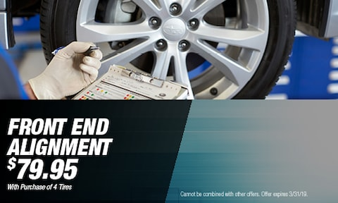 March - $79.95 Front End Alignment