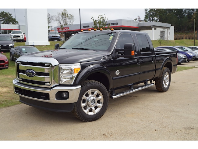 Used 2015 Ford F-250 Super Duty Lariat 4x4 SD Crew Cab 6.75 ft. box 4x4 Lariat  Crew Cab 6.8 ft. SB Pickup For Sale Oxford MS