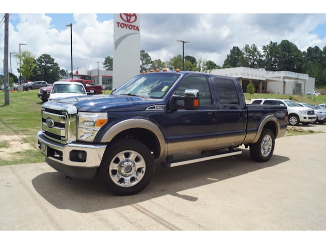 Used 2013 Ford F-250 Super Duty Lariat 4x4 SD Crew Cab 6.75 ft. box 4x4 Lariat  Crew Cab 6.8 ft. SB Pickup For Sale Oxford MS