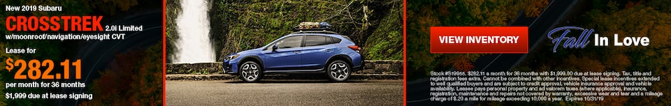 New 2019 Subaru Crosstrek 2.0i Limited