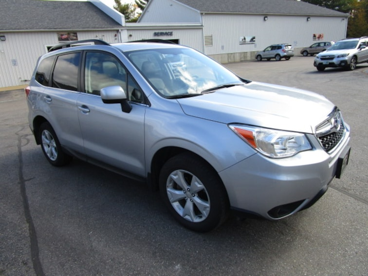 Used 2016 Subaru Forester 2.5i LIMITED SUV near Concord & Manchester