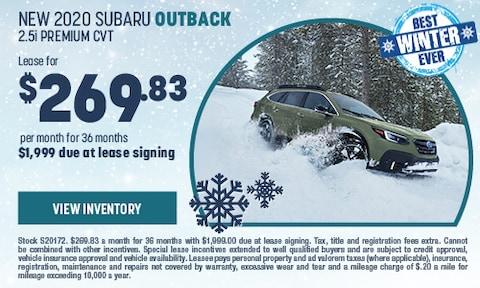New 2020 Subaru Outback 2.5i Premium CVT