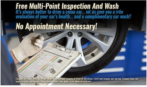 Free Multi-Point Inspection and Wash
