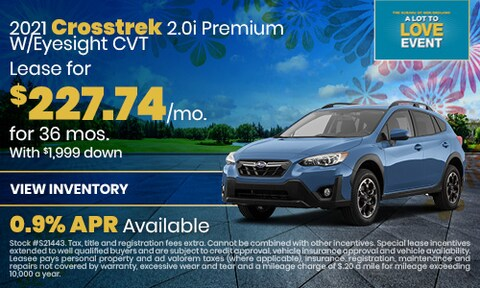 2021 Crosstrek 2.0i Premium W/Eyesight CVT