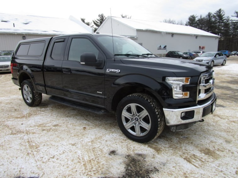 Used 2016 Ford F-150 XLT Super Cab near Concord & Manchester