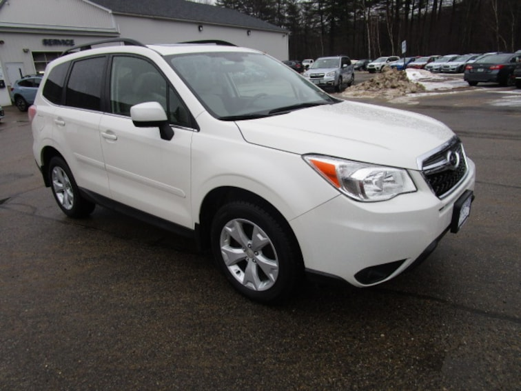 Used 2016 Subaru Forester LIMITED 2.5i SUV near Concord & Manchester