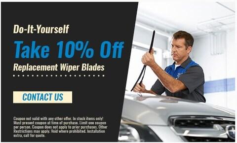DIY Replacement Wiper Blades