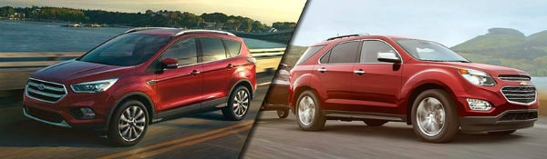 2017 Ford Escape vs Chevy Equinox