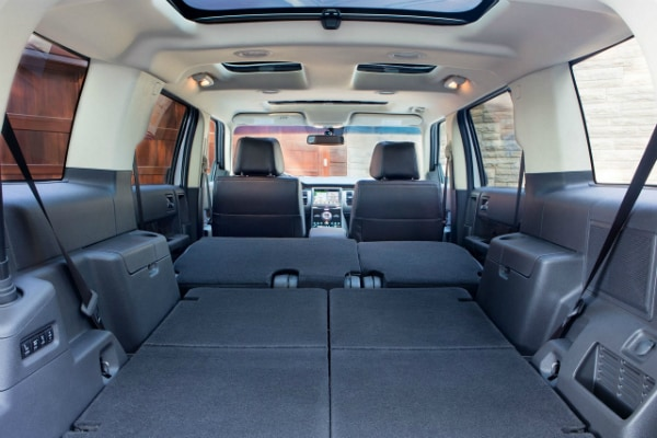 2017 Ford Flex fold-flat second row seats