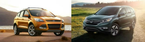 2016 Ford Escape vs Honda CR-V
