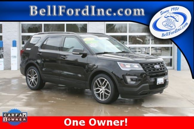 Certified Pre-Owned 2016 Ford Explorer Sport SUV For Sale In Arlington