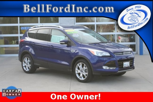 Certified Pre-Owned 2016 Ford Escape Titanium SUV For Sale In Arlington