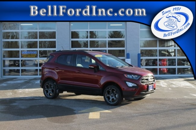 New 2018 Ford EcoSport SES SUV For Sale in Arlington
