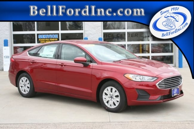 New 2019 Ford Fusion S Sedan for sale in Arlington WI