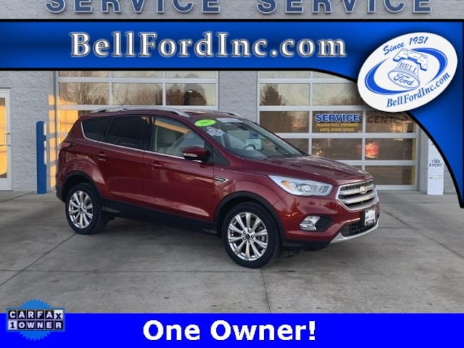 Certified Pre-Owned 2017 Ford Escape Titanium SUV For Sale In Arlington