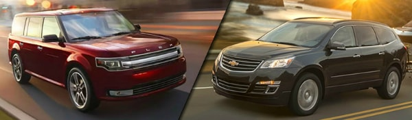 2017 Ford Flex vs Chevy Traverse