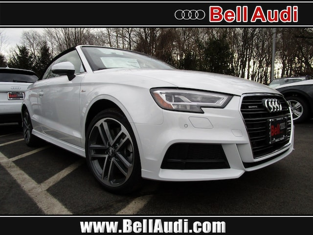 New 2019 Audi A3 2.0T Premium Plus Cabriolet For sale near New Brunswick NJ