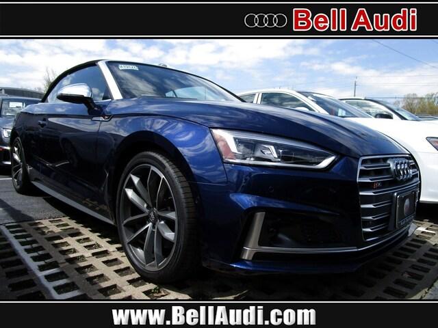 New 2019 Audi S5 3.0T Prestige Cabriolet For sale near New Brunswick NJ