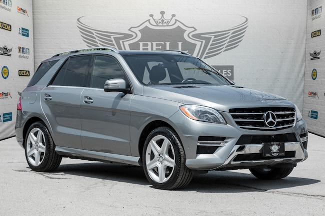 Certified Used 2015 Mercedes-Benz ML350 BlueTEC~4MATIC~360 CAMERA~ASSISTANCE GRAPHIC SUV In Toronto