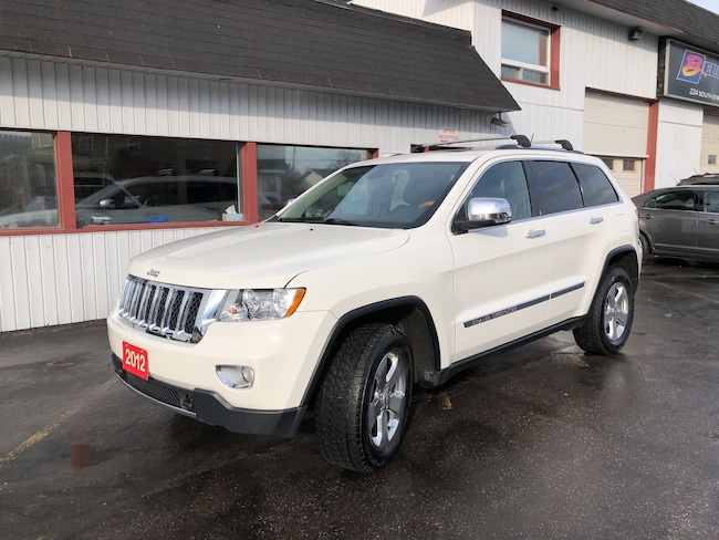 2012 Jeep Grand Cherokee Overland 5.7 HEMI! Navi/Sunroof/Leather/Bluetooth SUV