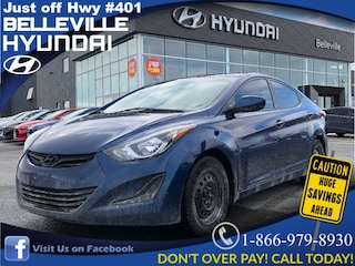 2016 Hyundai Elantra ONE OWNER, LOCAL TRADE Sedan