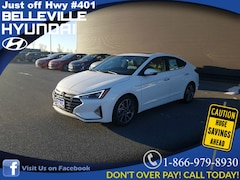 2019 Hyundai Elantra Luxury Sedan