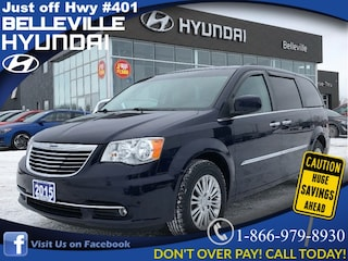 2015 Chrysler Town & Country Touring with DVD Players Minivan