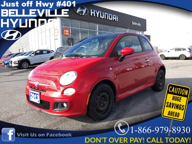 2013 Fiat 500 Sport sunroof power group Coupe