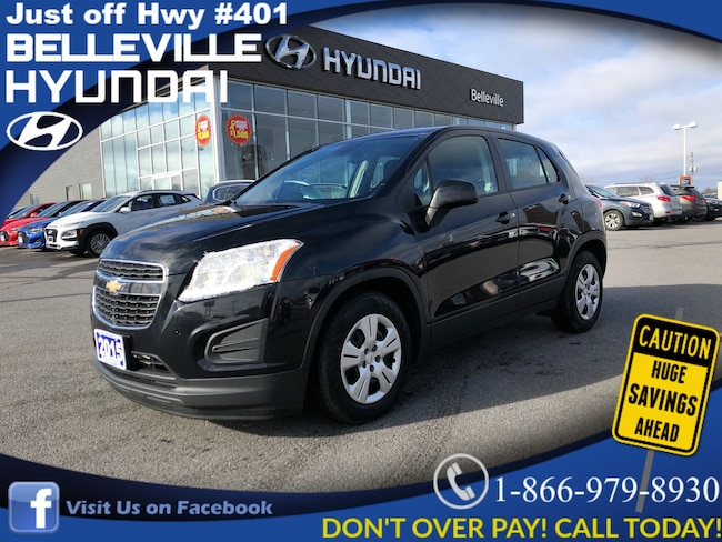 2015 Chevrolet Trax LS 6 spd. auto air power group cruise control SUV