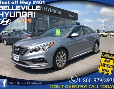 2015 Hyundai Sonata 2.4L Sport PANO ROOF ALLOYS  BOLSTERED SEATS Sedan