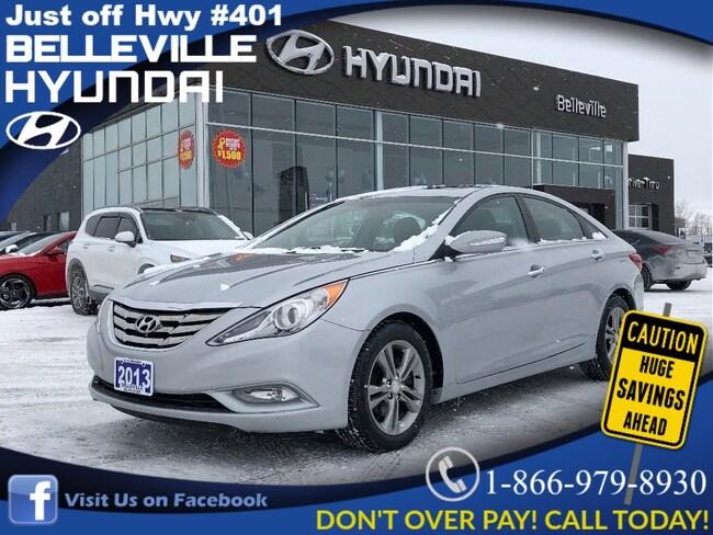 2013 Hyundai Sonata Limited, Leather, heated seats, climate control Sedan